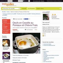 Recette de Oeufs en Cocotte au Poireaux et Chèvre Frais