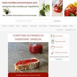 recette de la confiture de fraises au thermomix et agar agar
