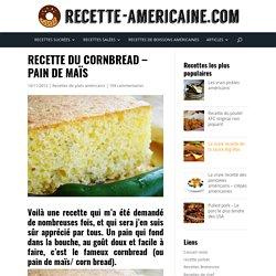 Cornbread - Pain de maïs