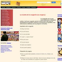 Recette du Cougnou, la Vraie recette Belge (cougnolle ou cougnou)