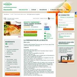 Recette Tarte légère saumon courgettes par Cilou24 - recette de la catégorie Tartes et tourtes salées, pizzas