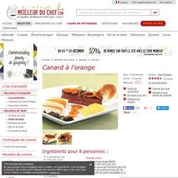 Canard à l'orange - Recette de cuisine illustrée