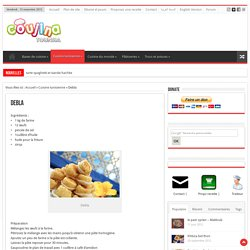 Recette Debla cuisine Tunisienne