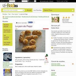 Recette de Le pain de Peppi