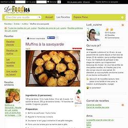 Recette de Muffins à la savoyarde