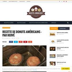 La recette des donuts américains - Par Hervé