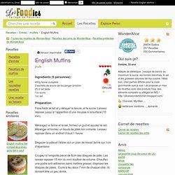 Recette de English Muffins