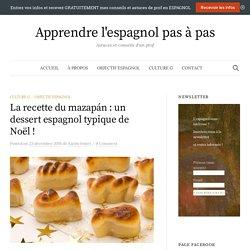 La recette du mazapán: un dessert espagnol typique de Noël! – Apprendre l'espagnol pas à pas