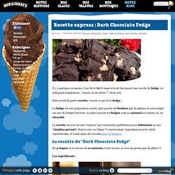 Recette express : Fudge au chocolat noir et aux noix