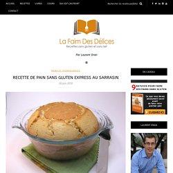 Pain sans gluten express au sarrasin