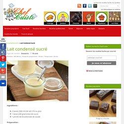 Recette facile de lait condensé sucré!