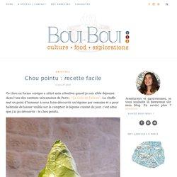 Recette facile chou pointu : bocaux chou et gingembreBoui Boui
