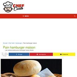Recette facile de pain hamburger maison!