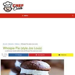 Recette facile de Whoopie Pies (style Jos Louis)!