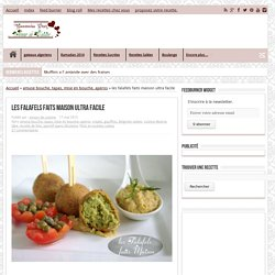 recette de falafels facile
