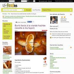 Recette de Bun's farcis à la viande hachée (recette à ma façon)
