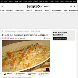 Recette de Filets de poisson aux petits légumes