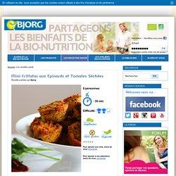 Recette Mini Frittatas aux Epinards, Tofu et Tomates Séchées - Bjorg recette santé