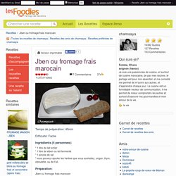 Recette de Jben ou fromage frais marocain