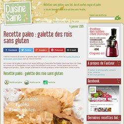 Recette paléo : galette des rois sans gluten - Cuisine saine : recettes sans gluten, vegan ou paléo