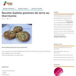 Recette Galette Pommes De Terre Au Thermomix