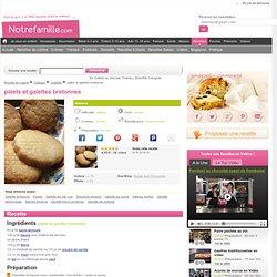 Recette de palets et galettes bretonnes