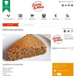 Recette : Gâteau aux spéculoos