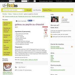 Recette de gateau au pepite au chocolat