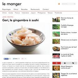 Recette du gari, le gingembre vinaigré pour sushi
