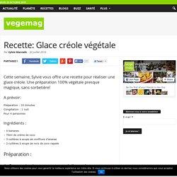 Recette: Glace créole végétale