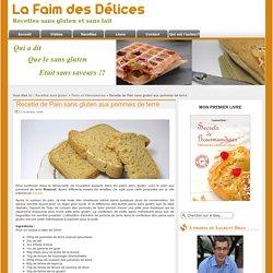 Recette de Pain sans gluten aux pommes de terre