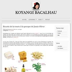 Tourte à la grecque de Jamie Oliver