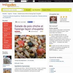 Recette de Salade de pois chiche et harengs façon choupette
