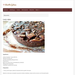 Lazy cake