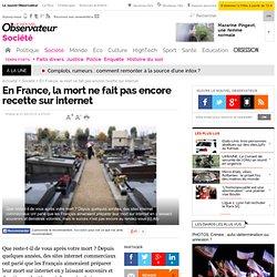 En France, la mort ne fait pas encore recette sur internet