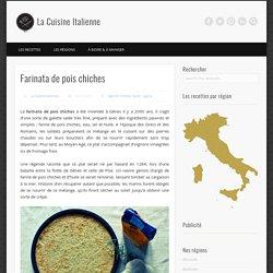 Recette italienne de la farinata de pois chiches