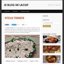Recette italienne du vitello tonnato : la recette du Piémont