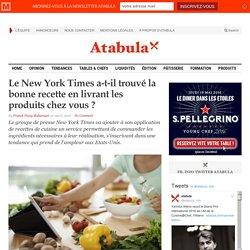 Le New York Times a-t-il trouvé la bonne recette en livrant les produits chez vous ?