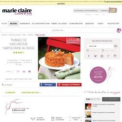 Recette timbale de macaronis napolitaine al ragù