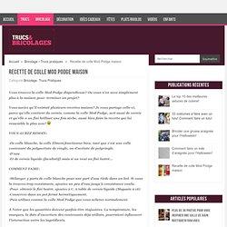 Recette de colle Mod Podge maison - Trucs et Bricolages