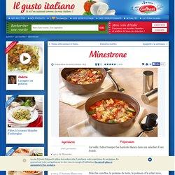 Recette - Minestrone – Recette Pâtes, Soupes et veloutés