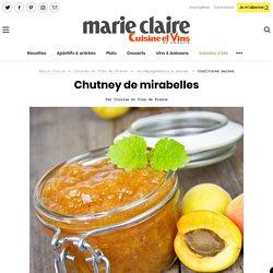 Chutney de mirabelles à la coriandre