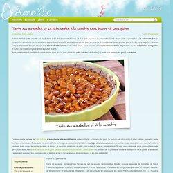 Tarte aux mirabelles et sa pâte sablée à la noisette
