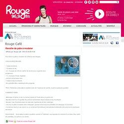 Recette de pâte à modeler - Toutes les entrées Rouge Café