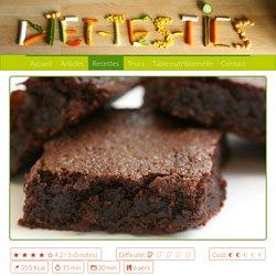 Recette: Moelleux au chocolat sans farine