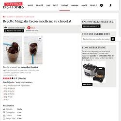 Recette de Mugcake façon moelleux au chocolat