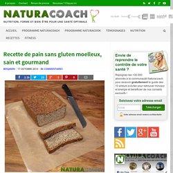 Recette de pain sans gluten moelleux, sain et gourmand