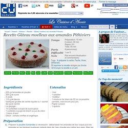 Recette Gâteau moelleux aux amandes Pithiviers - La cuisine familiale : Un plat, Une recette