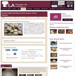 Recette leblabi (Montécaos farine de pois chiche), cuisinez leblabi (Montécaos farine de pois chiche)