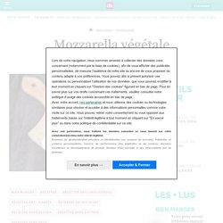 Recette Mozzarella végétale